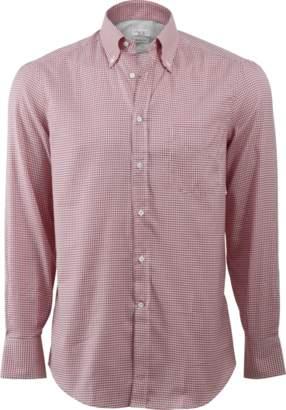 Brunello Cucinelli Gingham Spread Collar Shirt