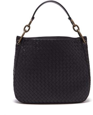 Bottega Veneta Loop small Intrecciato leather shoulder bag
