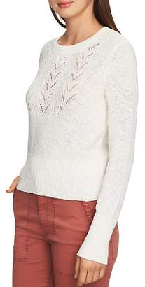 1 STATE 1.STATE Pointelle Detail Sweater