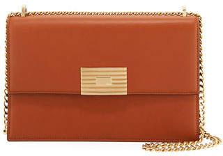 Ralph Lauren Leather RL Chain Shoulder Bag