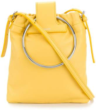 Theory O-ring handle mini tote bag