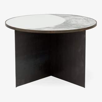 Echo Half Moon Table Black