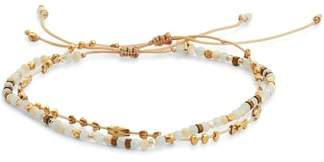 Chan Luu Adjustable Mixed Stone Bracelet