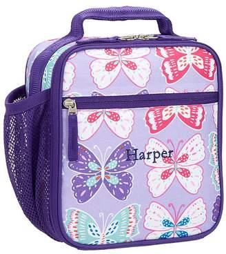 Pottery Barn Kids Mackenzie Lavender/Purple Preppy Butterflies Backpack