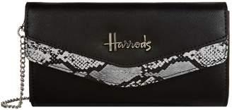 Harrods Matilda Snake Print Wallet