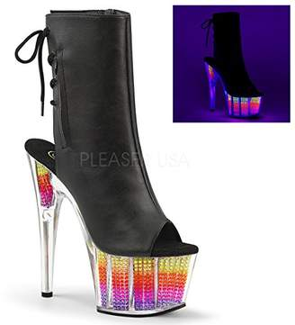 Pleaser USA Women's Ado1018srs/bpu/nmc Ankle Bootie