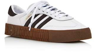 adidas Women's Sambarose Platform Lace-Up Sneakers
