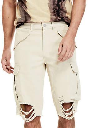 GUESS Carter Destroy Cargo Shorts