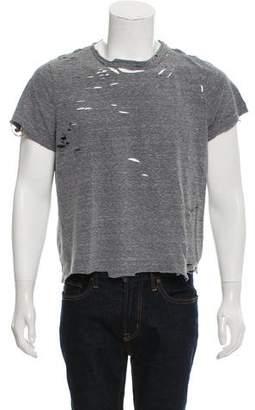 Amiri Distressed Knit Shirt