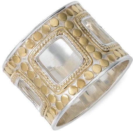 Anna Beck 'Raja' Rectangle Ring