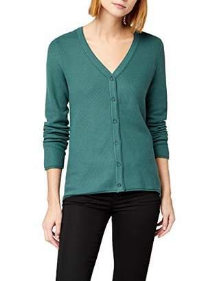 Cecil Women's 252524 Felia Cardigan, (Emerald Green 11023)