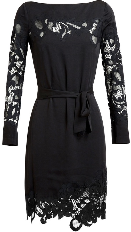Diane von Furstenberg Ernestina Stretch-Silk Dress