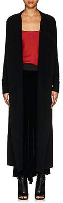 Rick Owens Women's Wool-Blend Belted Cardigan - Black