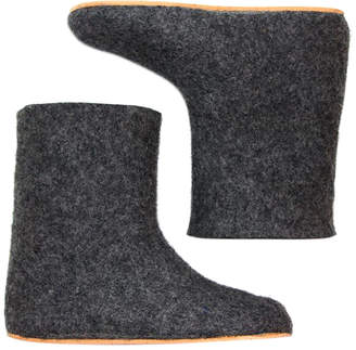 "Felt Forma Women's Pure Wool Boots ""Grey Squirrel"""