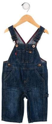 Levi's Boys' Denim Straight-Leg Overalls