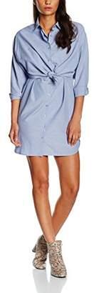 boohoo Women's Emmeline Tie Front Dress