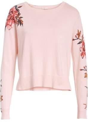 Joie Paari Silk & Cashmere Sweater
