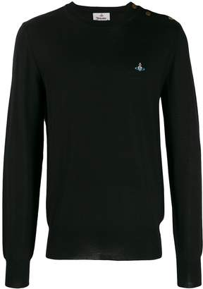 Vivienne Westwood embroidered knitted jumper