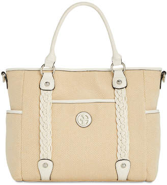 Giani Bernini Braided Tote, Created for Macy's