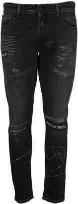 Marcelo Burlon County of Milan Gothic Surfer Antifit Jeans