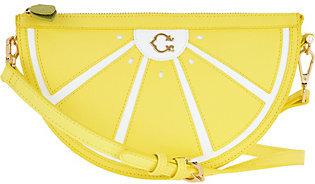 C. WonderC. Wonder Lemon Convertible Crossbody Handbag
