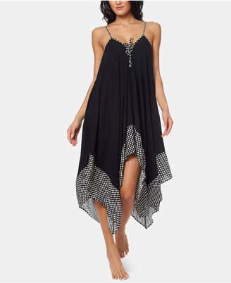 Jessica Simpson Maxi Dress Cover Up Women Swimsuit