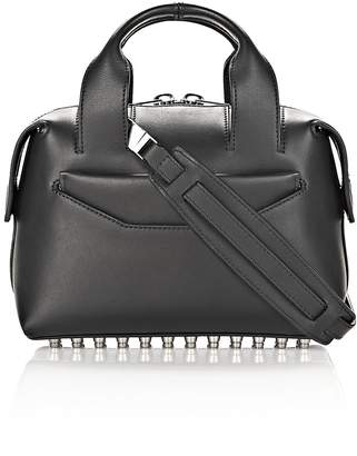 Alexander Wang Rogue Small Satchel In Black With Rhodium