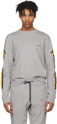 Off-White Off White Grey and Yellow Arrows Sweatshirt