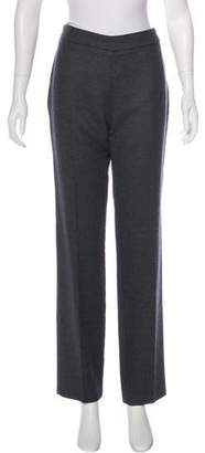 Lanvin Mid-Rise Straight-Leg Pants w/ Tags