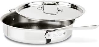 All-Clad d3 Armor Stainless Steel 3-Qt Saute Pan