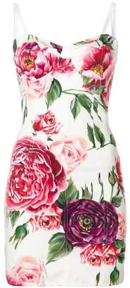 Dolce & Gabbana floral bodycon dress