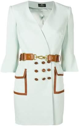 Elisabetta Franchi V-neck wrap mini dress