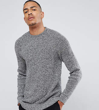 Selected Knitted Sweater With High Neck
