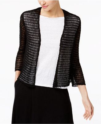 Eileen Fisher Cropped Cardigan $178 thestylecure.com