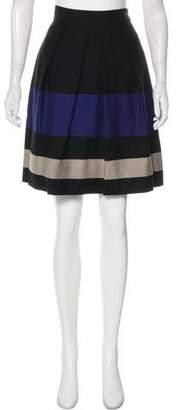 Lela Rose Wool Knee-Length Skirt w/ Tags