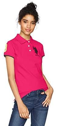 U.S. Polo Assn. Women's Contrast Patch Polo Shirt
