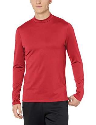 Peak Velocity Men's Thermal Long Sleeve Mock Neck Athletic-Fit Top