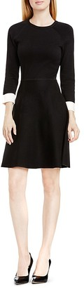 VINCE CAMUTO Fit-and-Flare Sweater Dress $139 thestylecure.com