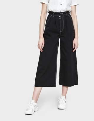 MM6 MAISON MARGIELA Garment Dyed Denim in Black