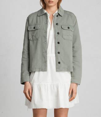 AllSaints Jemma Military Shirt