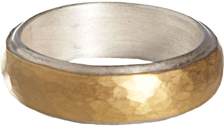 Malcolm Betts Silver Gold Band
