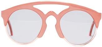 Marques Almeida MARQUES'ALMEIDA Half-frame acetate aviator sunglasses