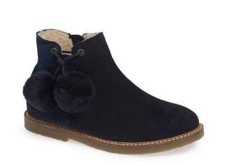 Boden Pompom Glitter Boot
