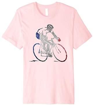 French Cyclist Road Racing Tour Cycling Giro Gift T-Shirt