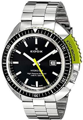 Edox Men's 53200 3NVM NIN Hydro Sub Analog Display Swiss Quartz Watch