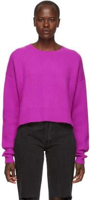 RE/DONE Purple Cashmere Sweater
