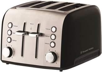 Russell Hobbs Heritage Vogue 4-Slice Toaster, Black