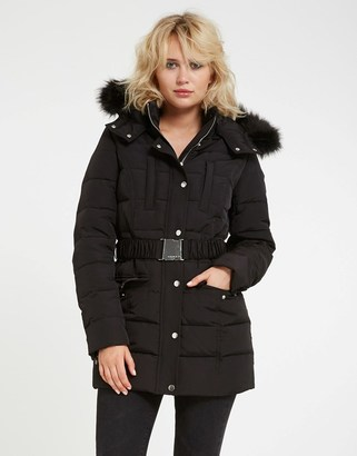Morgan Faux Fur Padded Coat