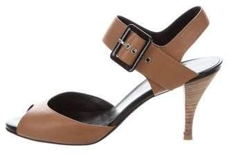 Pierre Hardy Leather Open-Toe Sandals