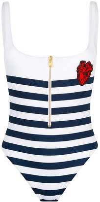 DSQUARED2 striped swimsuit